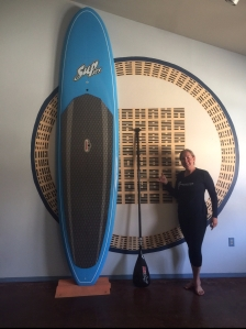 Hot Yoga Taos Paddleboard